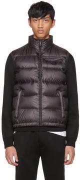 Prada Black Down Ripstop Vest