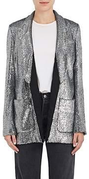 A.L.C. Women's Sequined Open-Front Blazer