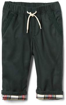 Gap TENCEL twill-lined pants