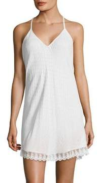 Flora Nikrooz Lace-Trimmed Chemise