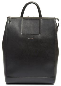 Matt & Nat 'Katherine' Faux Leather Backpack - Black