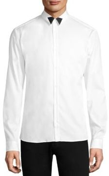 HUGO Basic Cotton Button-Down Shirt