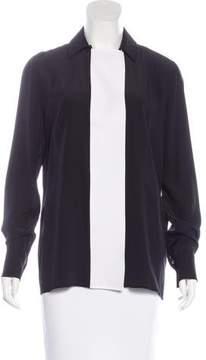 Mantu Silk Colorblock Top w/ Tags