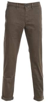 Jeckerson Men's Brown Cotton Pants.