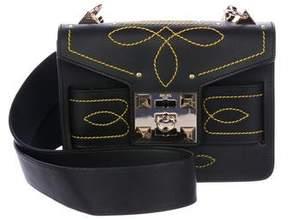 Mila Louise Salar Leather Stitch Bag