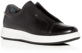 Karl Lagerfeld Men's Leather Slip-On Sneakers