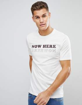 Benetton T-Shirt With Nowhere Print