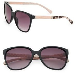 Sam Edelman 64MM Square Wayfarer Sunglasses