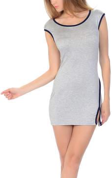 Celeste Gray Heather & Black Bodycon Dress - Women