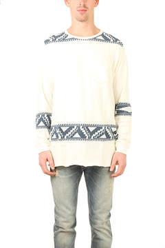 Remi Relief Shoulder Print Shirt