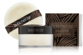 Laura Mercier Take A Powder Translucent Loose Setting Powder With Puff - No Color