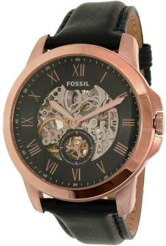 Fossil Men's ME3054 Grant Leather Watch, 44mm