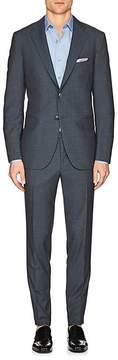 Boglioli Men's Alton Neat Wool Two-Button Suit