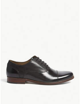 Aldo Marg perforated leather oxford shoes