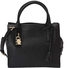 MICHAEL Michael Kors McKenna Medium Satchel - BLACK - STYLE