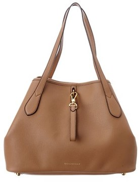 Burberry Medium Grainy Leather Tote. - TAN - STYLE