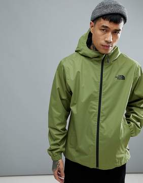 The North Face Quest Jacket Waterproof Hooded In Green