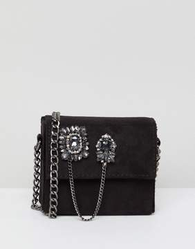 New Look Embellished Micro Cross Body Bag