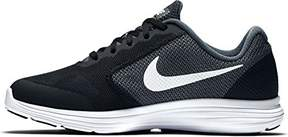 Nike Boy's Revolution 3 Wide (GS) Running Shoe Dark Grey/White/Black/Pure Platinum Size 6.5 Wide US