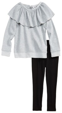 Splendid Girl's Sweatshirt & Leggings Set