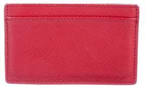 Smythson Grained Leather Cardholder