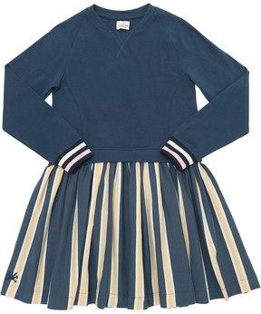 No Added Sugar Stripe Print Cotton Dress