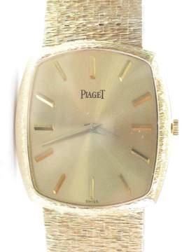 Piaget 18K Mens Yellow Gold Wrist 92 Grams 8 Watch