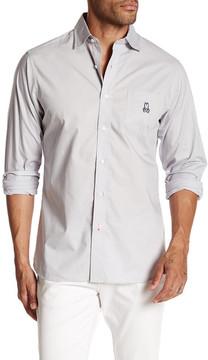 Psycho Bunny Solid Trim Fit Shirt
