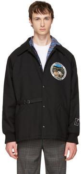 Lanvin Black Paradise Patch Jacket