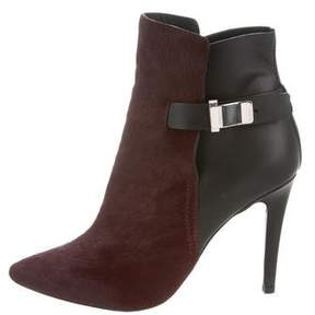 Proenza Schouler Ponyhair Pointed-Toe Booties w/ Tags