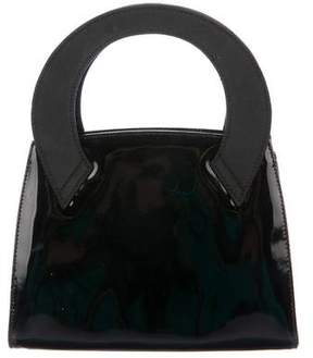 Salvatore Ferragamo Patent Leather Handle Bag