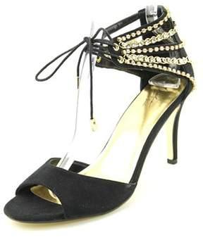 Thalia Sodi Evahly Open Toe Canvas Sandals.