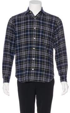 Hartford Plaid Flannel Shirt