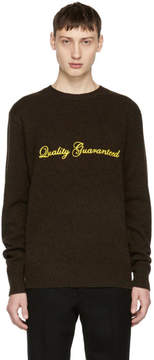Rag & Bone Brown Victor Quality Guaranteed Sweater