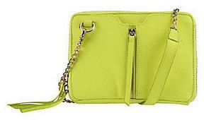 As Is Kelsi Dagger Chelsea Pebble Grain Leather Crossbody Bag