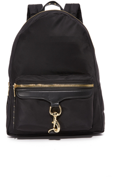 Rebecca Minkoff Always On MAB Backpack - BLACK - STYLE