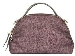 Borbonese Women's Grey Polyester Handbag.