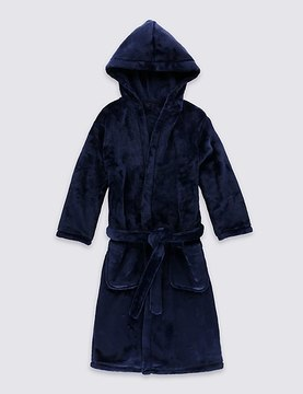 Marks and Spencer Hooded Dressing Gown (1-16 Yrs)