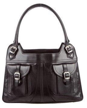Barbara Bui Black Leather Shoulder Bag
