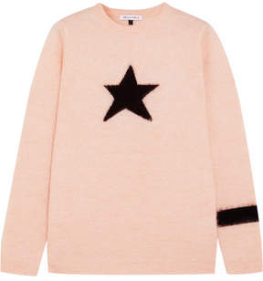 Bella Freud Star Mohair-blend Sweater - Pink