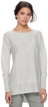 Elle Women's ElleTM Bow Accent Tunic Sweater