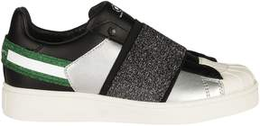 Moa Elastic Strapped Sneakers