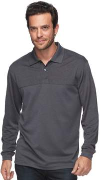 Haggar Men's Regular-Fit Marled Easy-Care Polo