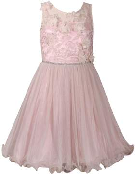 Bonnie Jean Girls 7-16 Sleeveless Embroidered Dress