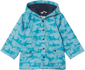 Hatley Blue Shark Alley Raincoat