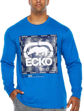 Ecko Unlimited Unltd Long Sleeve Crew Neck T-Shirt-Big and Tall