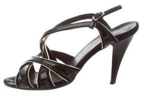 Alejandro Ingelmo Patent Crossover Sandals