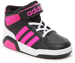 adidas Girls NEO BB9TIS Infant & Toddler High-Top Sneaker