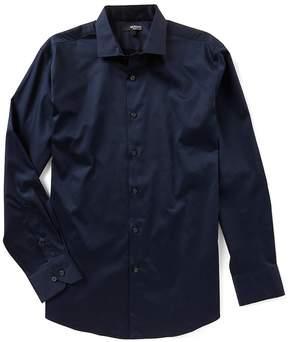 Murano Liquid Luxury Long Sleeve Solid Spread Collar Woven Shirt