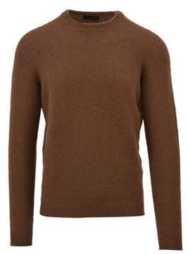 Roberto Collina Men's Brown Wool Sweater.